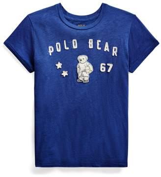 Ralph Lauren Polo Bear Patch Jersey Tee