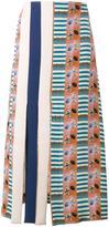 Tata-Naka Tata Naka - American football print a-line skirt - women - Silk - 10