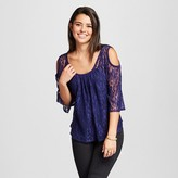 Women's Lace Cold Shoulder Top - Soul Cake (Juniors')
