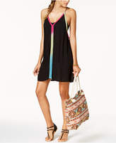 Raviya Multi-Color Trim Dress Cover-Up Women's Swimsuit