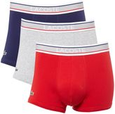 Lacoste 3 Pack Colour Trunks
