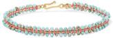 Isabel Marant Gold-tone Howlite Bracelet - one size
