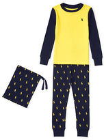 Ralph Lauren 2-7 Printed Cotton Sleep Set