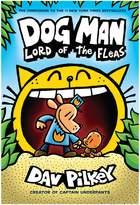 Scholastic Dav Pilkey Dog Man No. 5 Lord of the Fleas Book