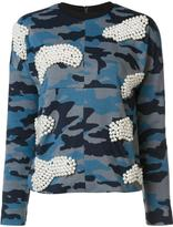 Maki Oh pearl and camouflage sweatshirt