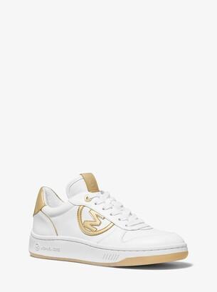 MICHAEL Michael Kors Gertie Metallic Leather Sneaker
