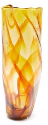 Nina Nørgaard Nina Nrgaard - Recifs Glass Vase - Yellow