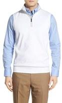 Bobby Jones Men's Leaderboard Quarter Zip Pima Cotton Vest