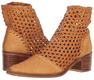 Free People In the Loop Woven Boot (Taupe) Women's Pull-on Boots
