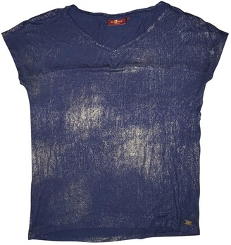7 For All Mankind Blue Top for Women