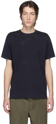 Comme des Garçons Homme Deux Navy Tie-Dye T-Shirt