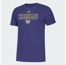 adidas Washington Huskies Men's Locker Stacked T-Shirt