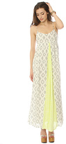 O'Neill The Lagoon Crinkle Gauze Maxi Dress in Naked