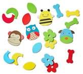 Skip Hop Bath Toy Mix & Match Zoo Characters, Multi
