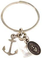 Werkstatt:Munchen charm key ring - unisex - Silver - One Size