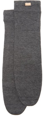 Lunya - Restore Cotton-blend Socks - Dark Grey