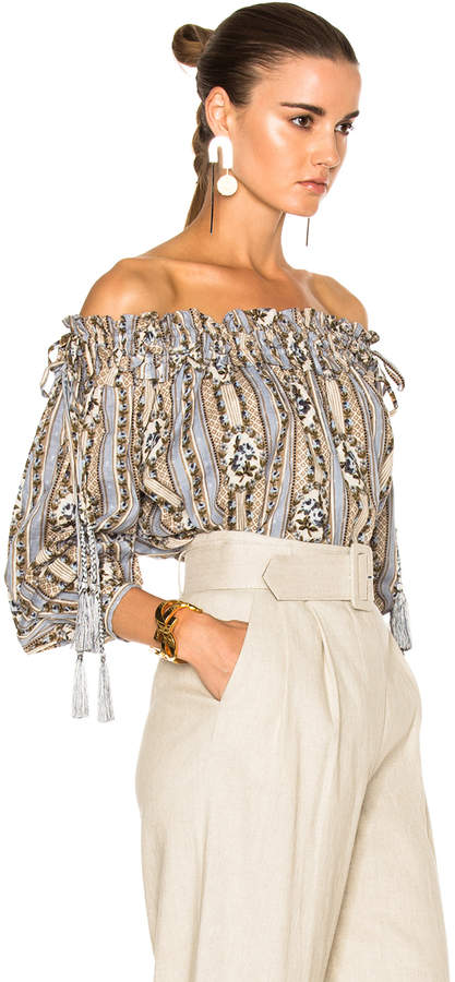 Needle & Thread Fleur Cotton Top