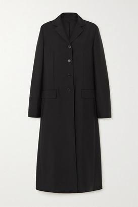 The Row Mintra Woven Coat - Black