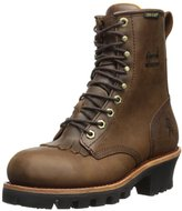 "Chippewa Women's 8"" Waterproof Insulated Steel Toe L26341 Logger Boot"
