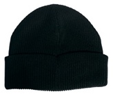 Asos Fisherman Beanie Hat - Black