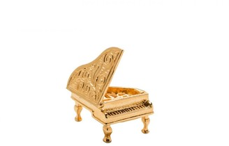 Mirabelle Jewellery Piano Articulated Charm