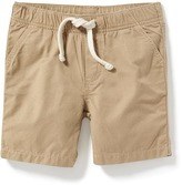 Old Navy Pull-On Twill Jogger Shorts for Baby