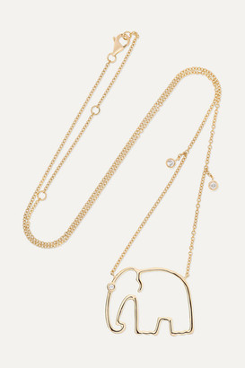 Yvonne Léon 18-karat Gold Diamond Necklace - one size