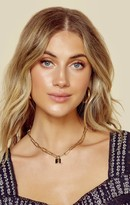 Jurate Brown LADY BOSS CHAIN AND LOCK NECKLACE | New