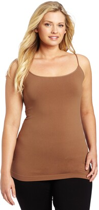 skinnytees Women's Plus-Size and A Little More Skinny Cami