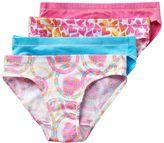 Hanes Girls 6-16 4-pk. Ultimate Stretchy Comfy Bikini Panties