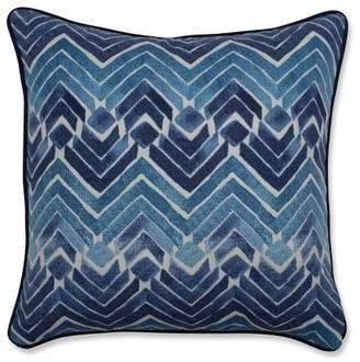 Mid-Century MODERN Pillow Perfect Zen Blend Throw Pillow Blue