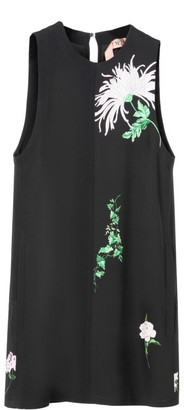 No.21 Floral Sleeveless Shift Dress