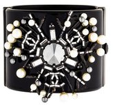 Chanel Pearl & Crystal Burst Cuff