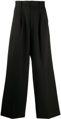 Ambush Wide-Leg Wool Trousers