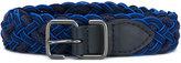 Issey Miyake woven belt - men - Cotton - One Size
