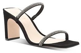 Schutz Women's Salwa Slip On High-Heel Sandals