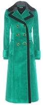 Miu Miu Cotton Corduroy Coat