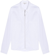 Isa Arfen Boat-neck Cotton Zip Top