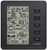 La Crosse Technology 308-2316 Professional Weather Station, Black