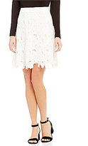 Soprano Flower Lace Scallop Skirt