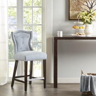 "Madison Home USA Mervin Light Blue 40-inch Counter Stool - 18.125""w x 21.25""d x 40.125""h"