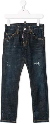 DSQUARED2 distressed detail jeans