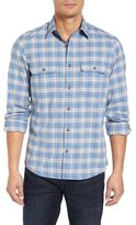 Nordstrom Trucker Trim Fit Flannel Shirt