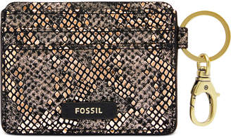 Fossil Lee Leather Card Case