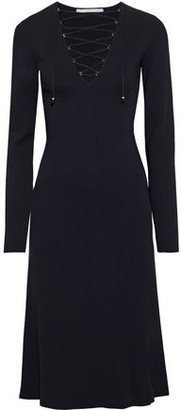 Stella McCartney Lace-up Ponte Dress