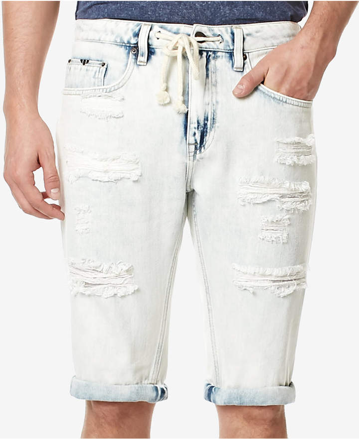 Buffalo David Bitton Men's PARKER-X Cotton Denim Shorts