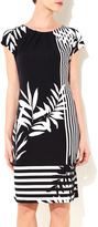 Wallis Black And White Stripe Tunic Dress