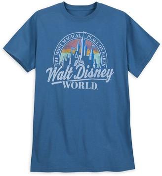 Disney Walt World Collegiate Logo T-Shirt for Adults