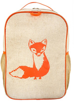 SOYOUNG Fox Linen Backpack