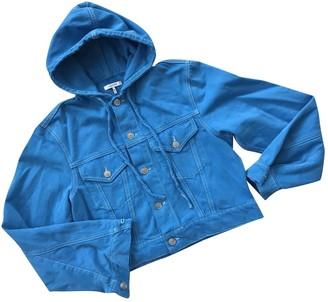 Ganni Spring Summer 2019 Blue Denim - Jeans Jackets